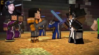 VI ER NESTEN HJEMME! | Minecraft Storymode #28 | Norsk Gaming