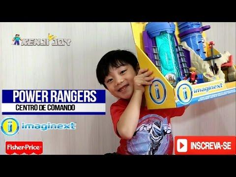 Power Rangers  Centro de Comando  Fisher Price Imaginext
