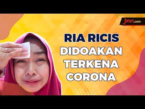 Didoakan Terkena Corona, Ria Ricis Bilang Begini