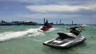 Water Sports Activity at Koh Larn Island Funny Sea Tour, Pattaya Thailand (Jet Ski-ing in Pattaya)