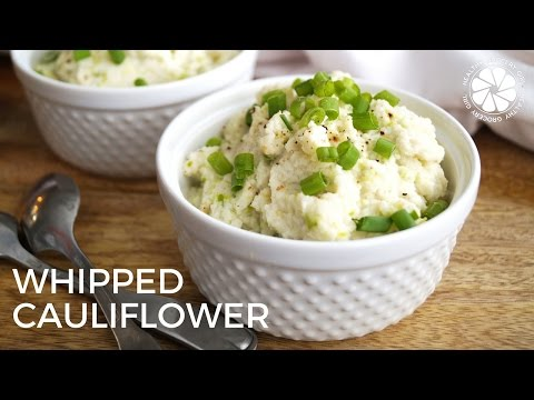 FOOD: Whipped Cauliflower | Easy Healthy Recipe | Healthy Grocery Girl Cooking Show