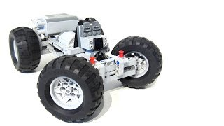 Fast and Compact LEGO PF RC car Instructions