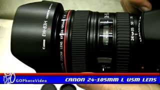 Canon 24-105mm f4L IS USM Lens Unboxing + Field Tests
