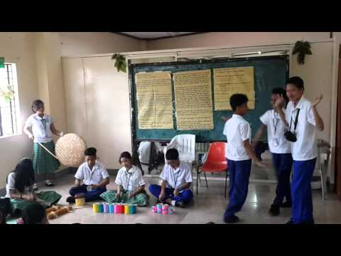 Gongs of Mindanao activity grade 7