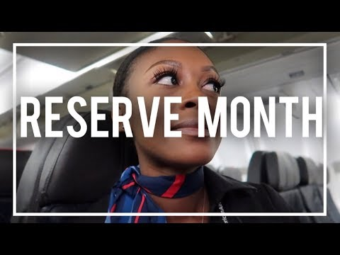 RESERVE STARTS! 3 DAY TRIP, MOVEABLE DAYS, BEING RELEASED | THE REAL LIFE OF A FLIGHT ATTENDANT