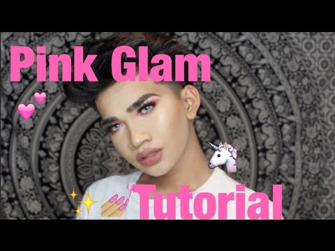 Full Face Pink Glam Tutorial