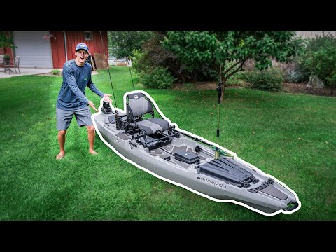 The Most UNREAL KAYAK (Kayak Fishing Setup)