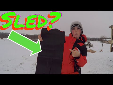 Homemade sled! Will it work?