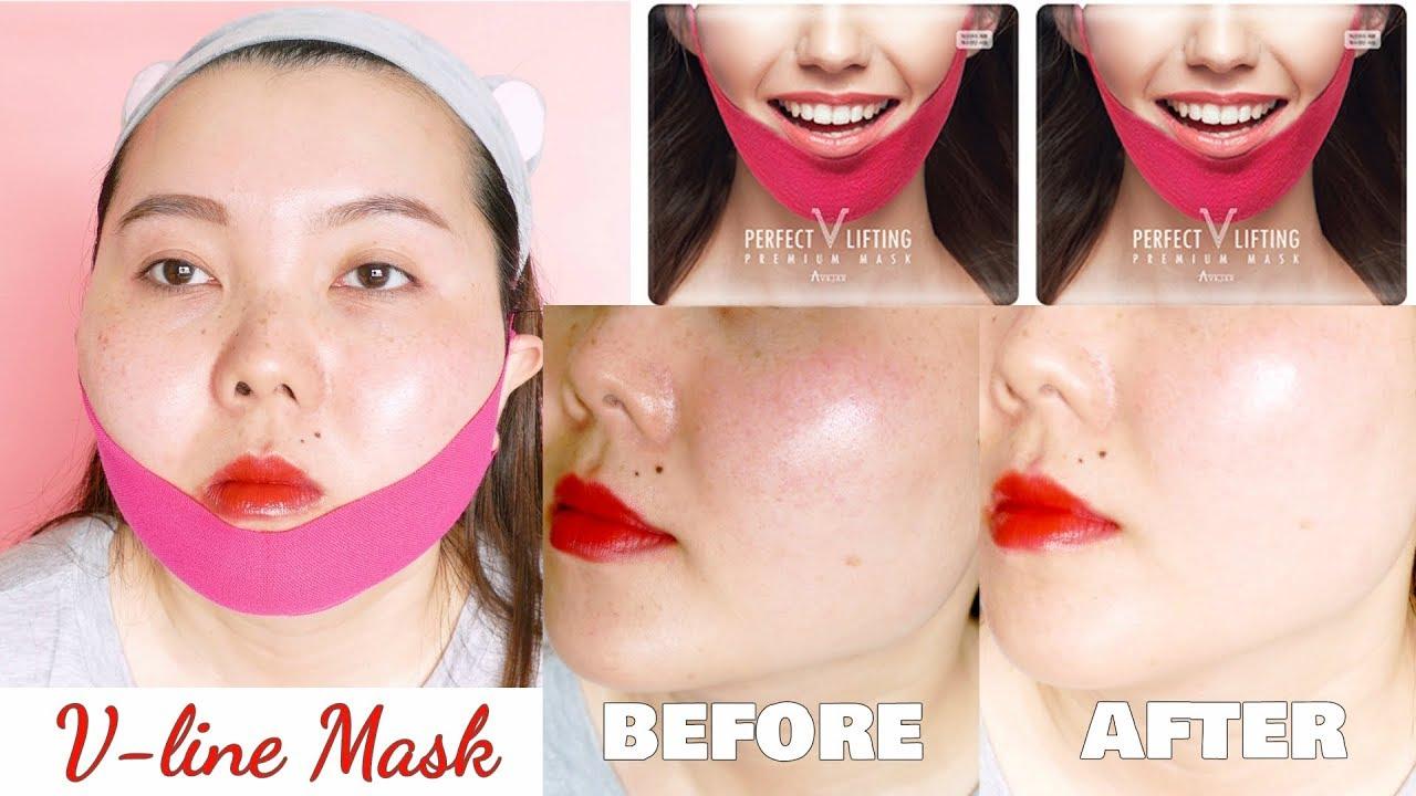 LÀM MẶT V-LINE KHÔNG CẦN PHẪU THUẬT THẨM MỸ // [Avajar] Perfect V Lifting Premium Mask