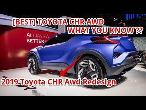 best 2019 toyota chr awd redesign youtube. Black Bedroom Furniture Sets. Home Design Ideas