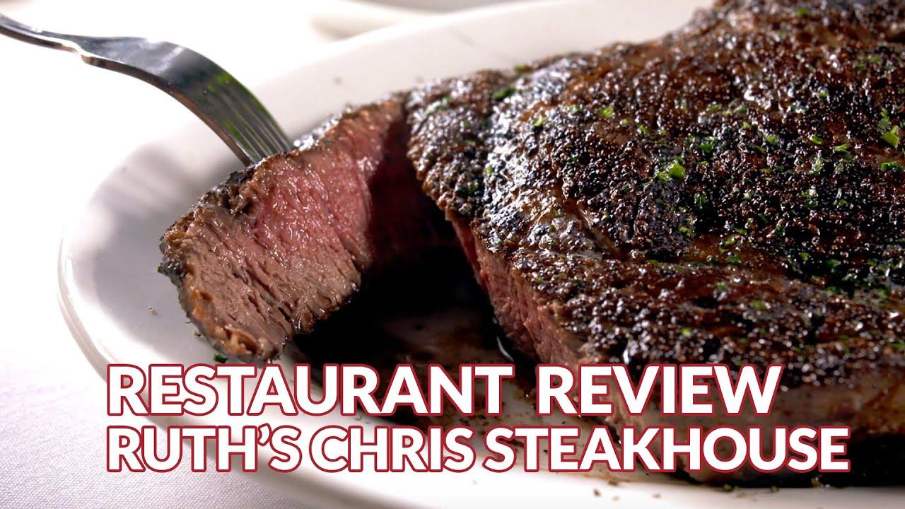 Restaurant Review Ruth S Chris Steak House Atlanta Eats
