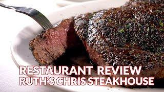Restaurant Review - Ruth's Chris Steak House | Atlanta Eats