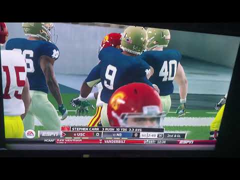 NCAA FOOTBALL 14 USC DYNASTY EP#7! WORST GAME I'VE EVER PLAYED....