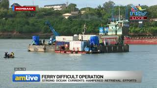 Likoni Ferry Accident: More privately-hired personnel join recovery operations