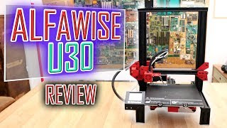 Alfawise U30 3D printer REVIEW | only 159€