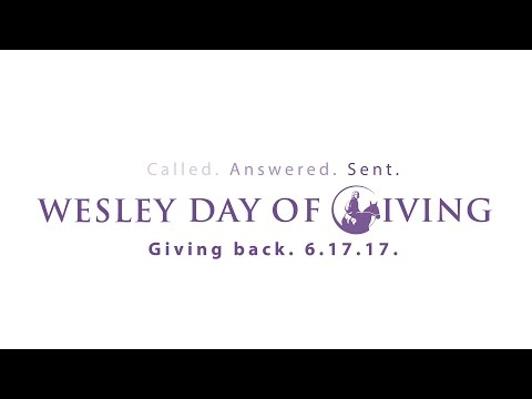 Wesley Day of Giving 2017- Rev. Dr. Stacey Cole Wilson