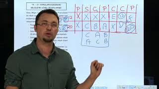 Sözel Mantık Soru 6 Orkun DİKMEN (sabitler tablosu)
