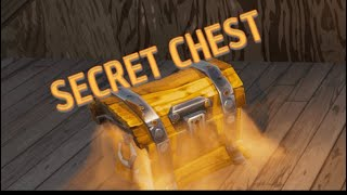 Fortnite Saison 8 SECRET Chest - Arme légendaire garantie