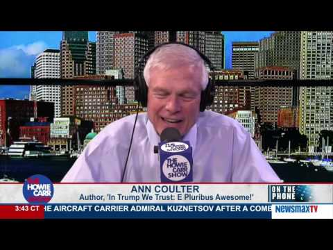 The Howie Carr Show | Ann Coulter - Trump tweets to bypass the media