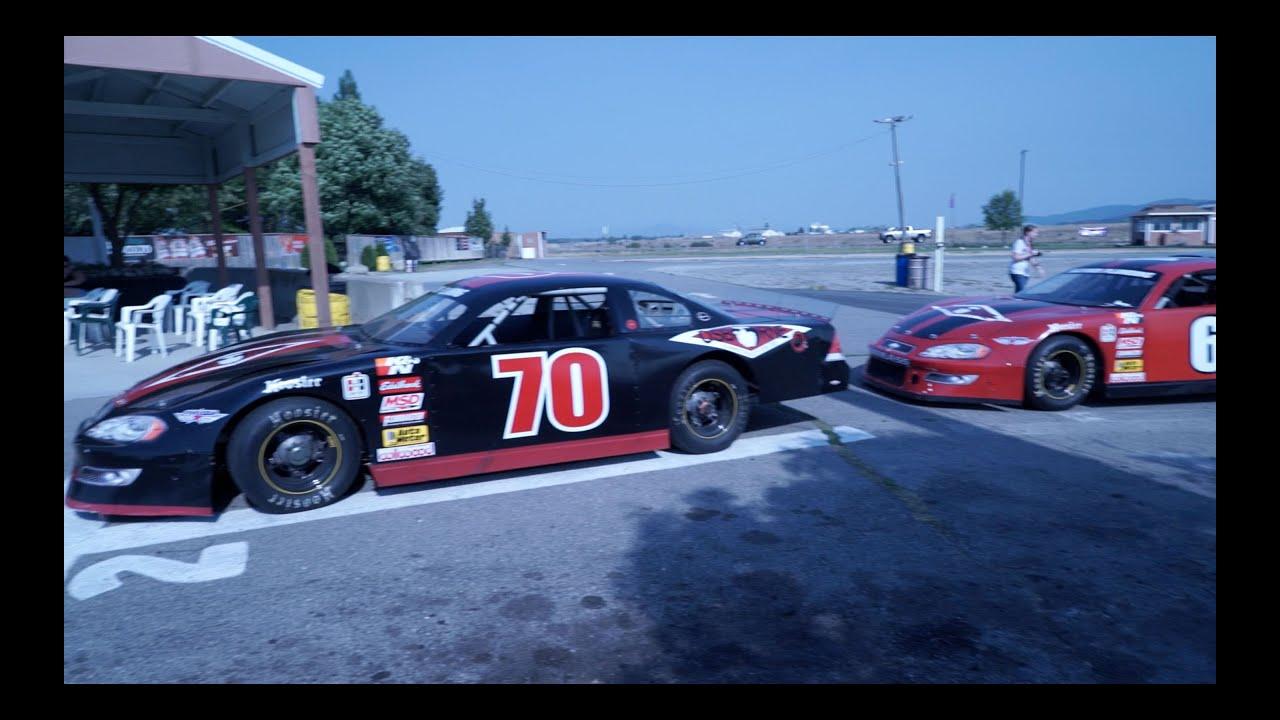Three Days Grace driving race cars