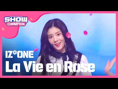 Show Champion EP.291 IZ*ONE - La Vie en Rose