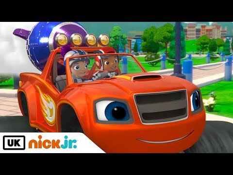Blaze And The Monster Machines | Need For Blazing Speed | Nick Jr. UK