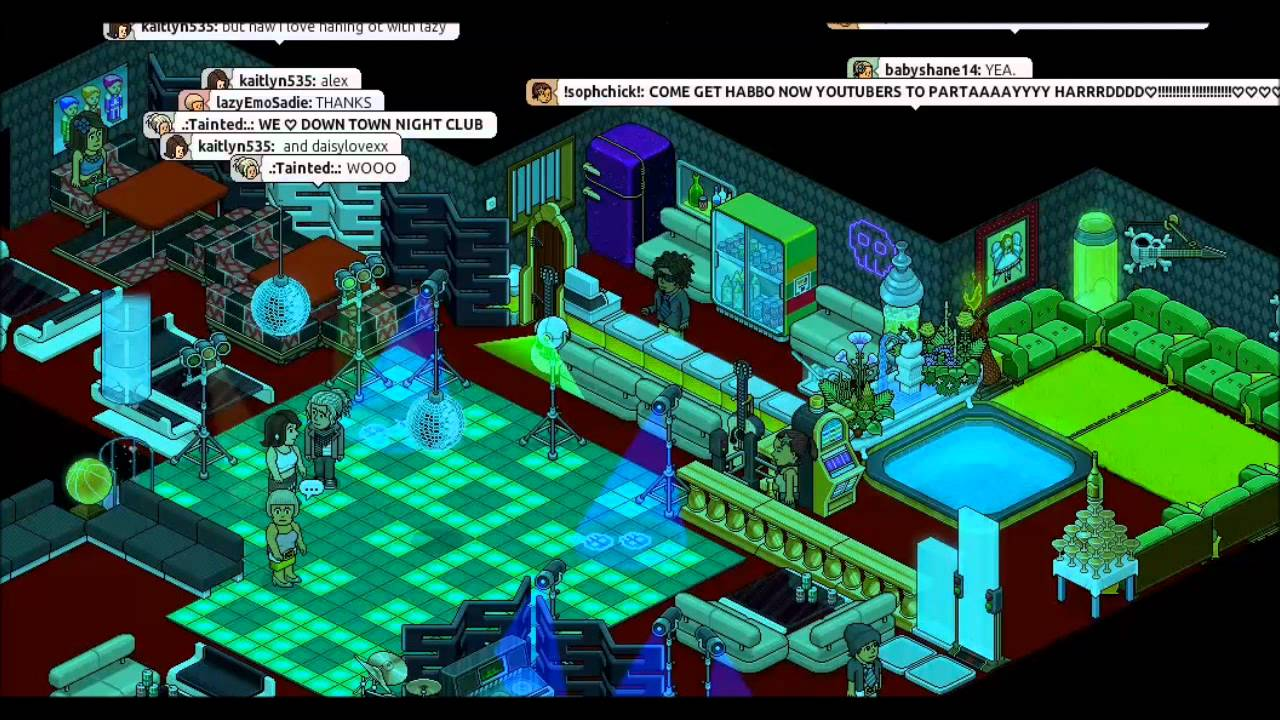 DNTC- Habbo Night Club - YouTube