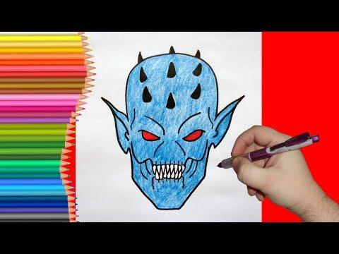 картинки монстры карандашом