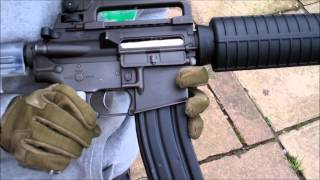 Airsoft Gun M4A1 Full Automatic Review With Shooting Test