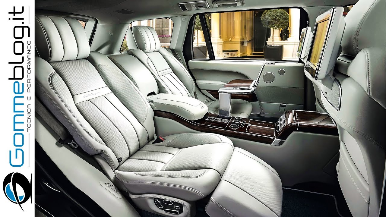 2018 Range Rover Svautobiography Interior Best First Class Luxury