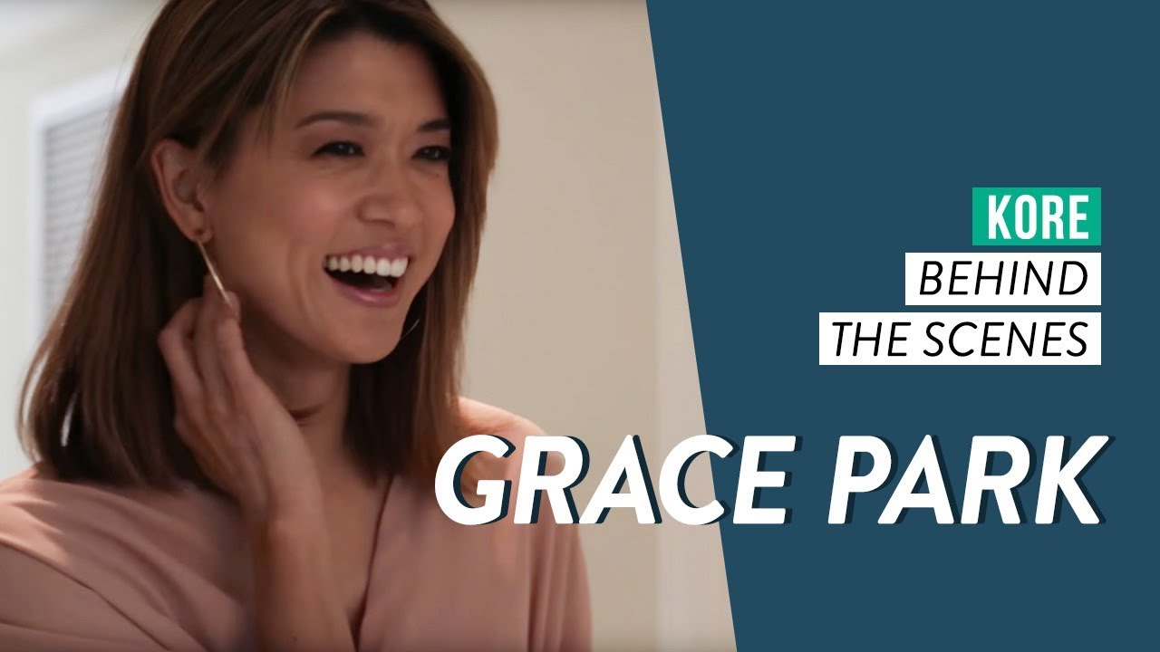Grace Park Behind The Scenes For Kore 2018 Annual Issue Youtube