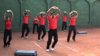 Aerobics session by Dr Vivek Bhartiya