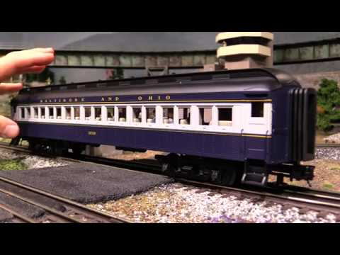 Atlas Trainman 60′ O Scale Passenger Cars