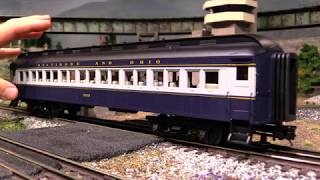 Atlas Trainman 60' O Scale Passenger Cars