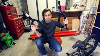 How to replace BMX forks