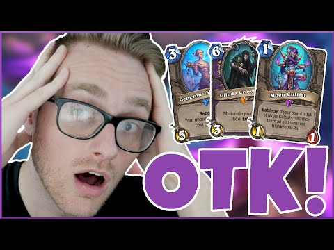 Hearthstone | Mumm-Ra OTK! | Wild Highkeeper Ra Combo Warlock | Saviors of Uldum