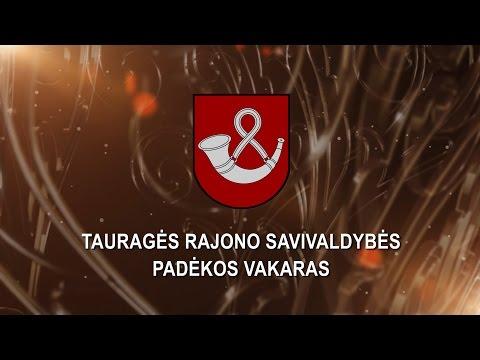TVK tiesiogiai. Tauragės rajono savivaldybės padėkos vakaras.