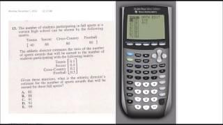 ACT Calculator Strategies TI-84+