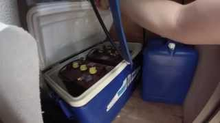 Worlds best utility trailer conversion with solar power DIY Bug out off the grid trailer