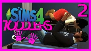 Let's Play: The Sims 4 TODDLERS || Part 2 || Potty Training Toddler!