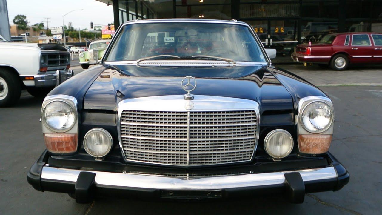 280c mercedes benz strich acht 8 w115 coupe 2dr w114 w. Black Bedroom Furniture Sets. Home Design Ideas