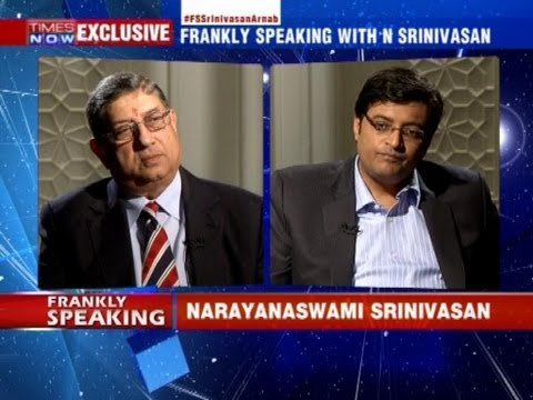 Explosive interview with N Srinivasan