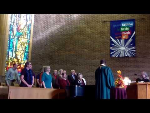 AMEN! The Reverend Eugene James with CWCC Choir - HD