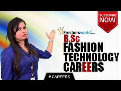 Careers In B Sc Fashion Technology M Sc P Hd Designing Job Opportunities Salary Package Youtube