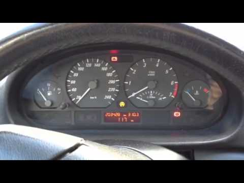 Lampen Bmw E46 : Asc drehzahl motor starten e46 bmw youtube