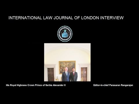 Interview With HRH Crown Prince of Serbia Alexander II