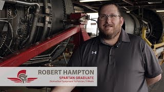 Aviation Electronics Testimonial | Robert Hampton | Spartan College