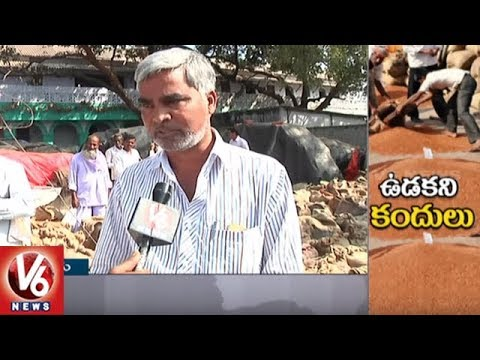 Special Report On Pigeon Pea Farmers Problems In Tandur | V6 News
