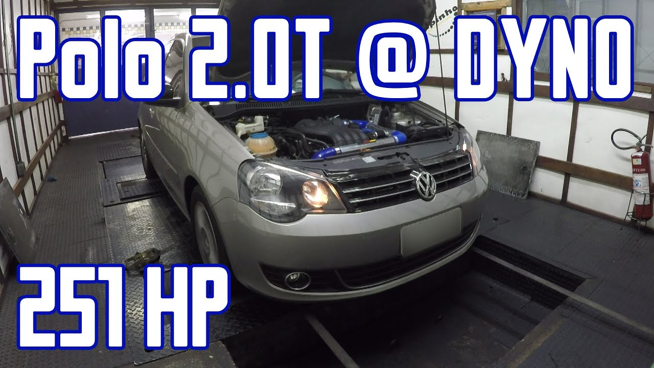 vw polo 9n3 sportline 2 0 turbo ft500 dyno 251hp youtube. Black Bedroom Furniture Sets. Home Design Ideas