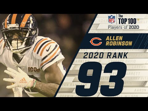 #93: Allen Robinson (WR, Bears)   Top 100 NFL Players of 2020